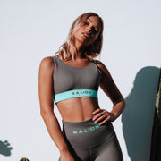 Irreplaceable Sports Bra Grey