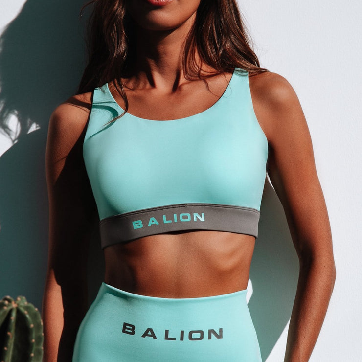Irreplaceable Sports Bra Turquoise