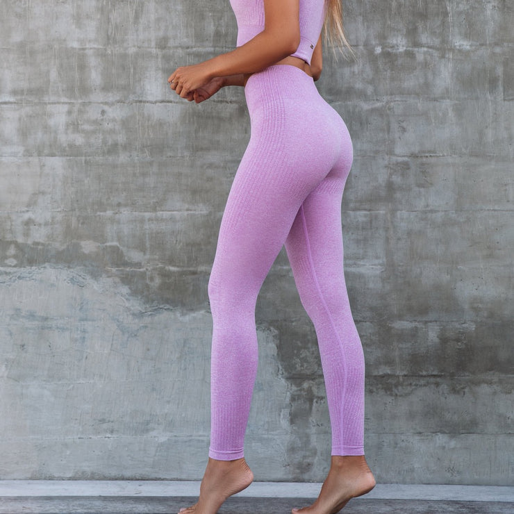 Seamless Shape Tights Pink