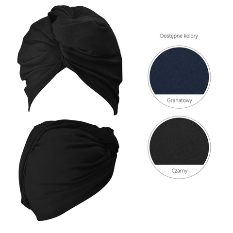 ANWEN - WRAP IT UP - TURBAN (CZARNY)