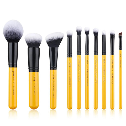 JESSUP 10 PCS MAKEUP BRUSHES SET CITRUS