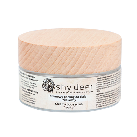 SHY DEER - CREAM BODY SCRUB - 100ML