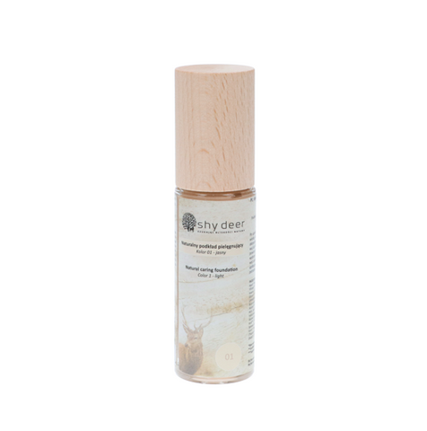 SHY DEER NATURAL CARE FOUNDATION - COLOR 01 LIGHT 30ML