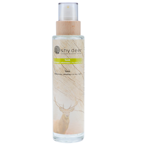 SHY DEER - MOISTURIZING AND REFRESHING TONER 200ML IN GLASS