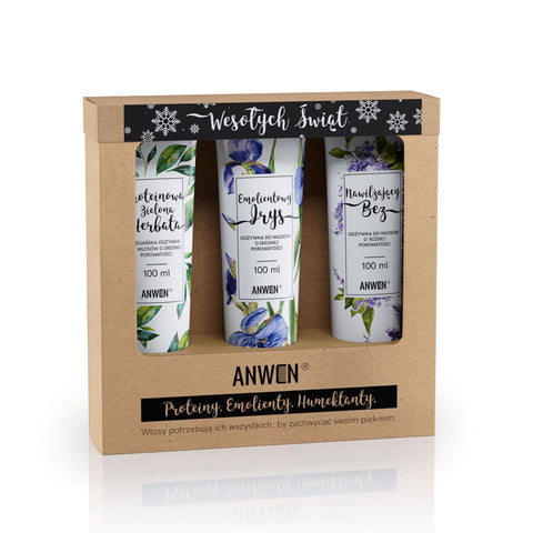 ANWEN - VEGAN NOURISHING MASKS FOR MEDIUM POROSITY