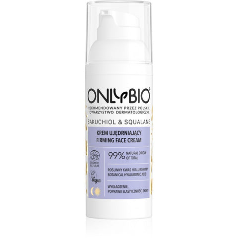 ONLY BIO: BAKUCHIOL & SQUALANE: FIRMING FACE CREAM 50ML