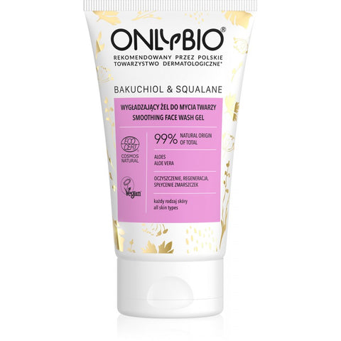 ONLY BIO: BAKUCHIOL & SQUALANE: SMOOTHING FACE WASH GEL