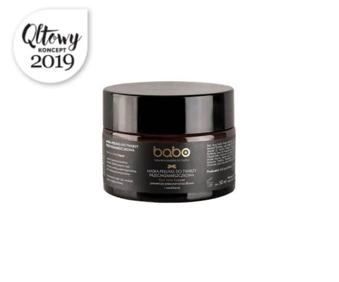 BABO - ANTI-WRINKLE FACE PEELING MASK