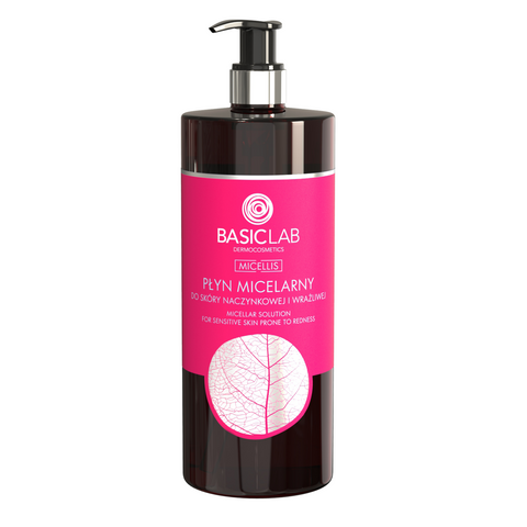 BASIC LAB - MICELLAR WATER FOR SENSITIVE SKIN, 500ML