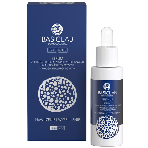 BASIC LAB - SERUM WITH TREHALOSE 10% AND 5% PEPTIDE MOISTURIZING FILLING 30ML