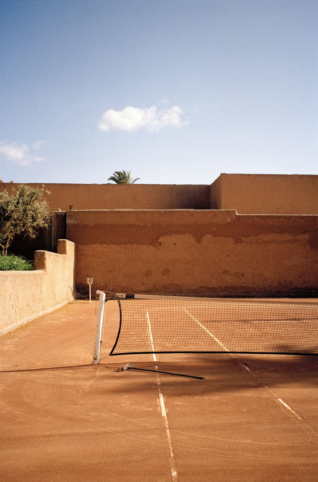 ANNA PIHAN TENNIS IN MARRAKECH FILM FINE ART PRINT