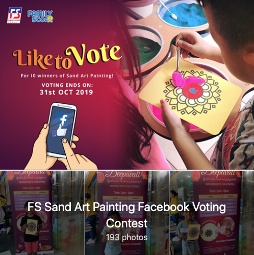 FS Sand Art Painting Facebook Voting Contest