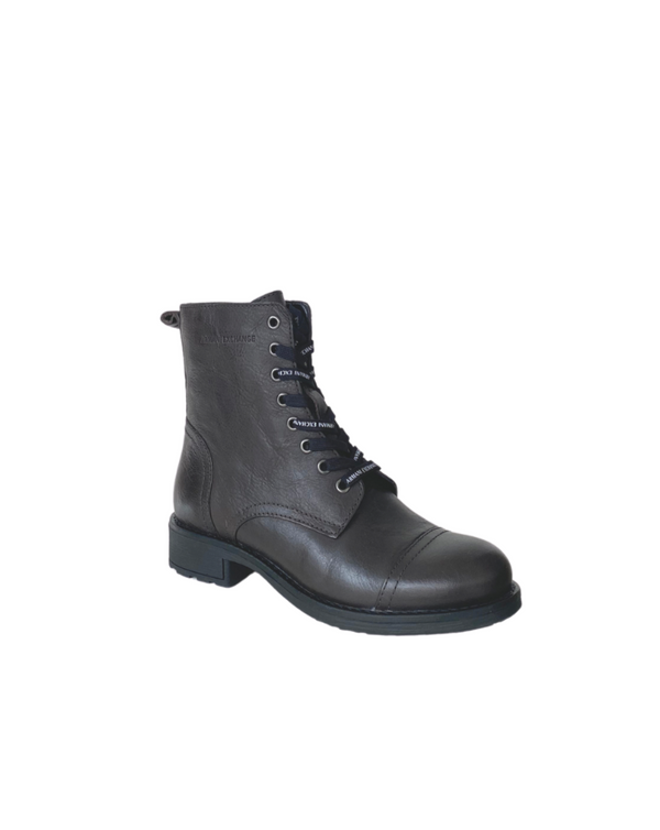 Armani Exchange Military style boots