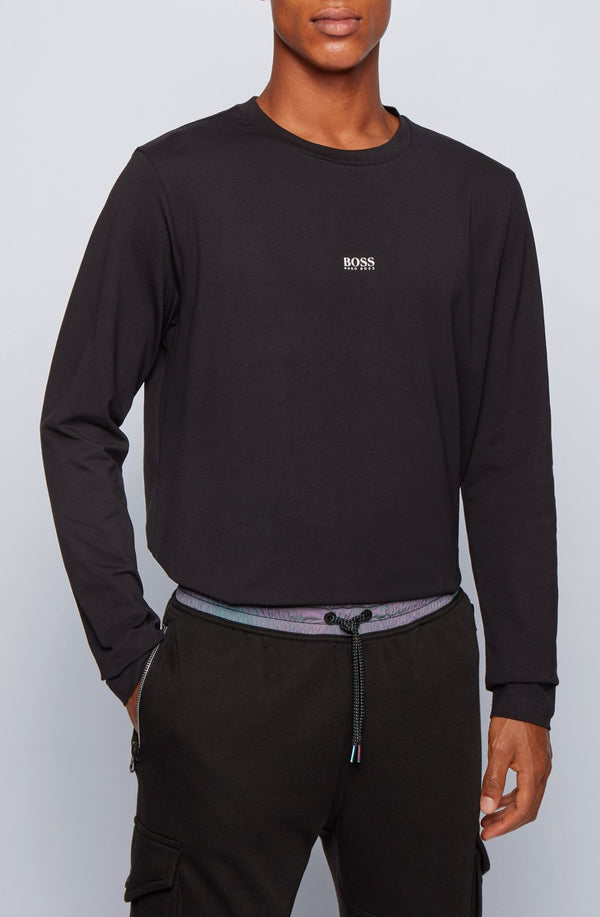 Camiseta Hugo Boss negro