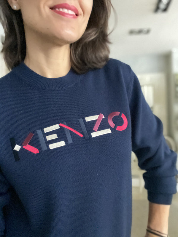 Kenzo jumper with embroidered logo