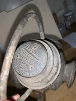 "Antique ""Neverout"" Kerosine Safety Bicycle Lamp"