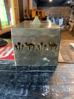 Joe Camel Brass Cutout Box Collectable