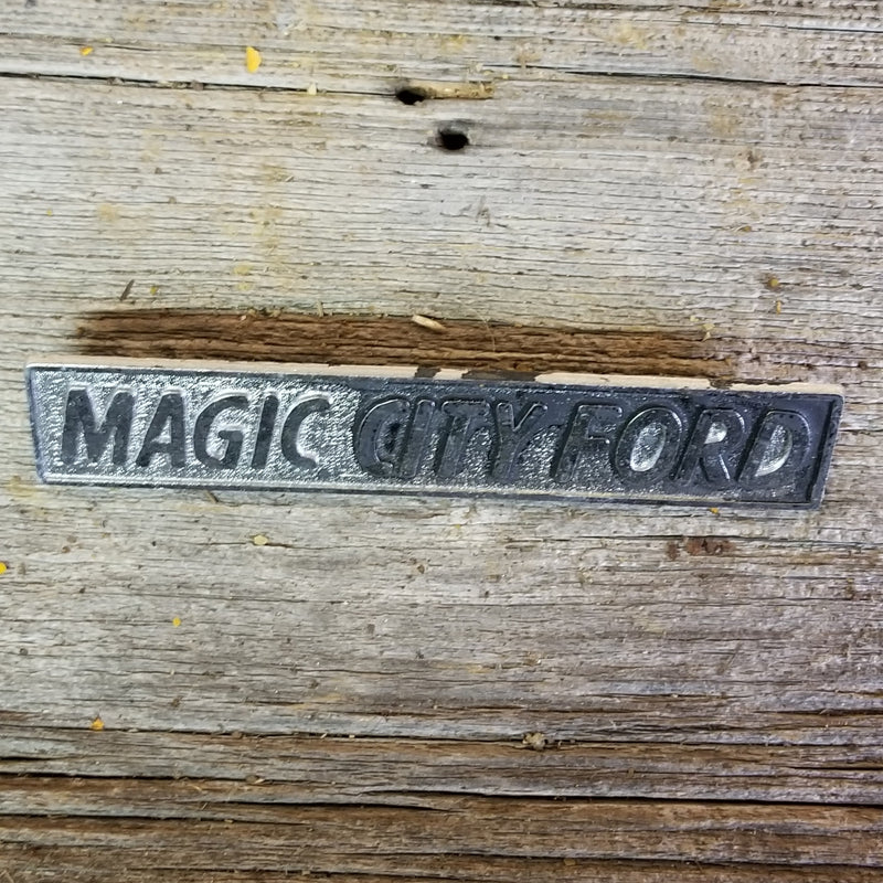 Magic City Ford Dealer Emblem