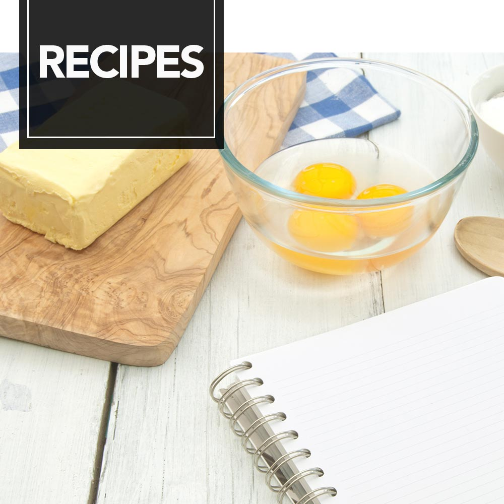 A variety of ingredients used to bake our amazing recipes - Recipes.
