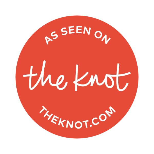 As Seen On The Knot | The Knot Wedding Registry Logo | www.sweetbouquetscupcakes.com