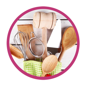 Kitchen utensils from the Sweetshop Gifts store! | Sweetshop Gifts | www.SweetBouquetsCupcakes.com
