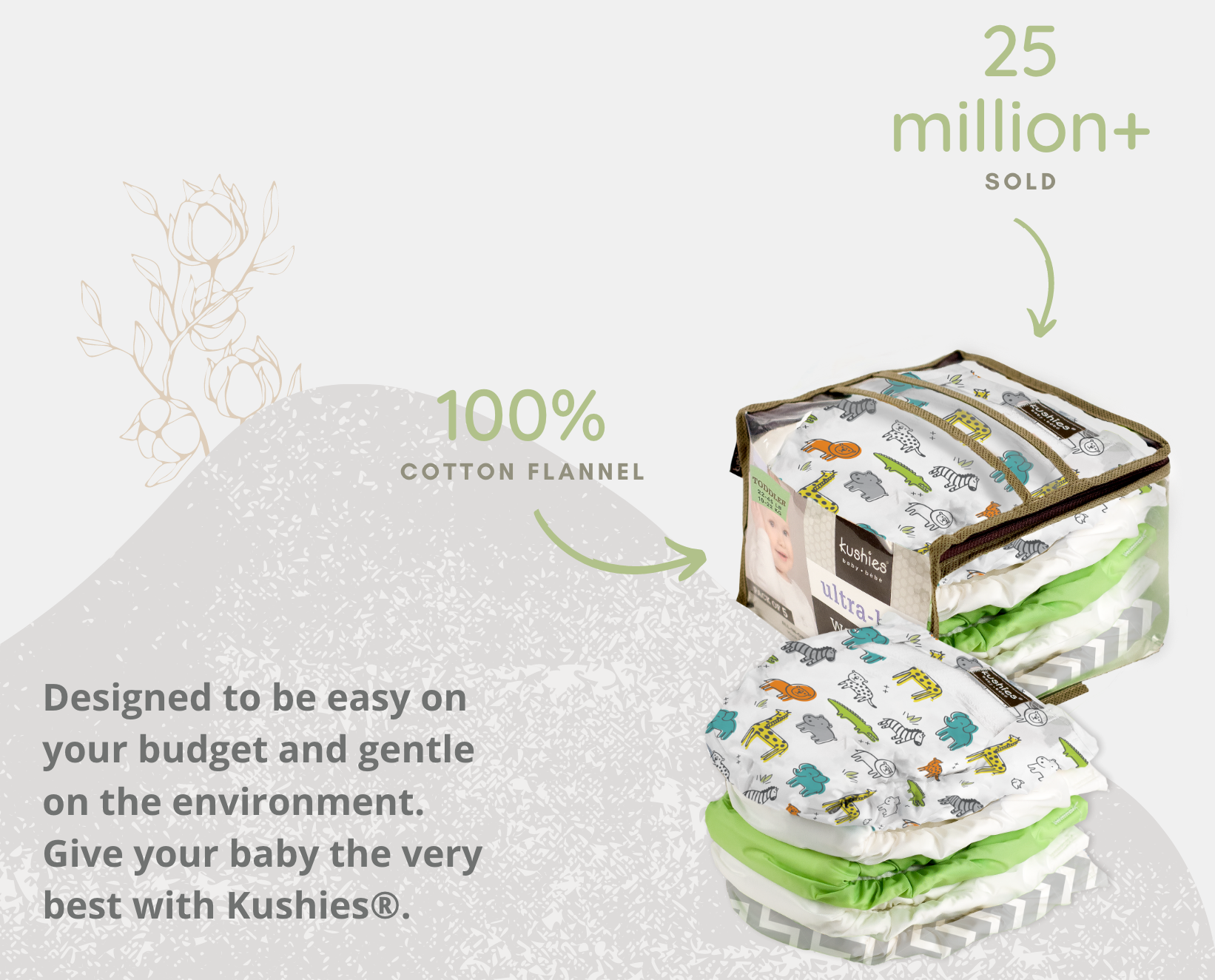designed to be easy on your budget and gentle on the environment