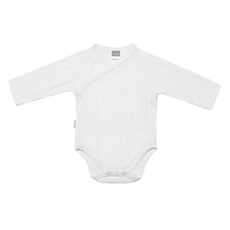 Everyday Layette | Side Wrap Long Sleeve Bodysuit