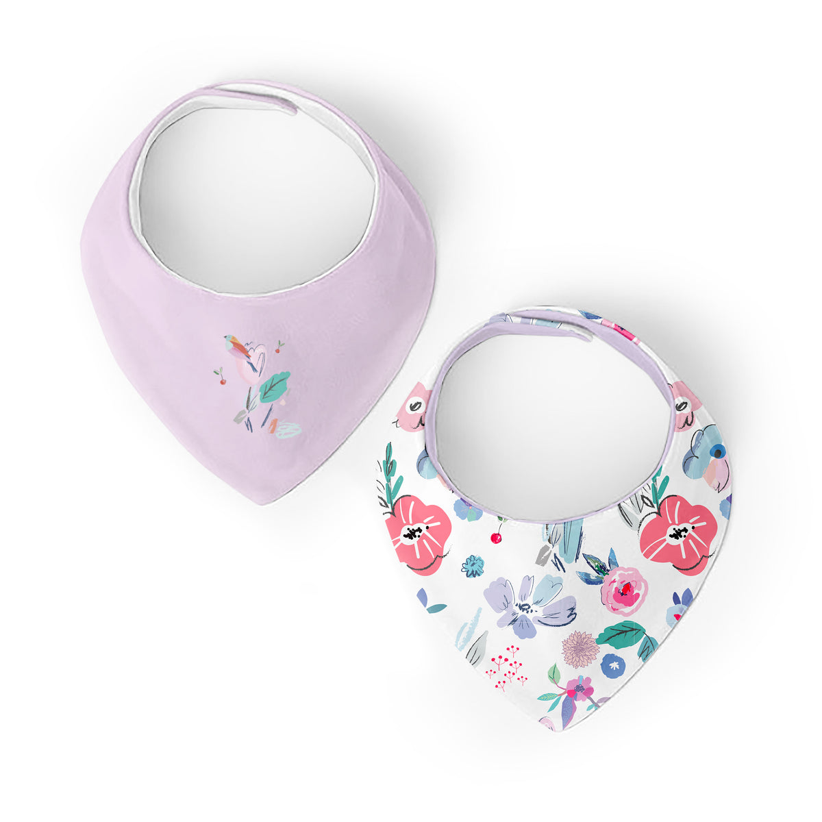 Flower | Bandana Bib | 2pack
