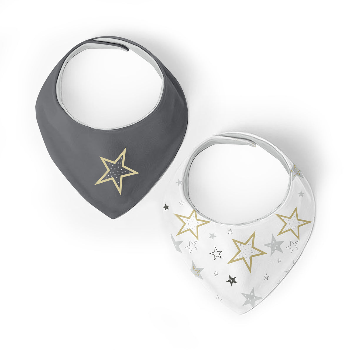 Star | Bandana Bib | 2pack