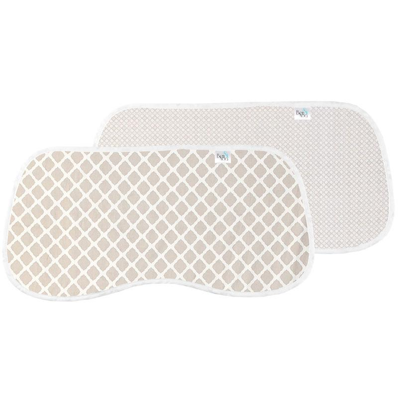 Ben & Noa | Percale Burp Pads 2Pack