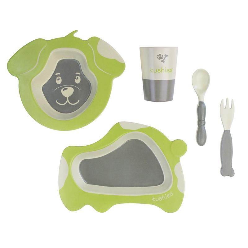 EcoClean Tableware Set | Dog