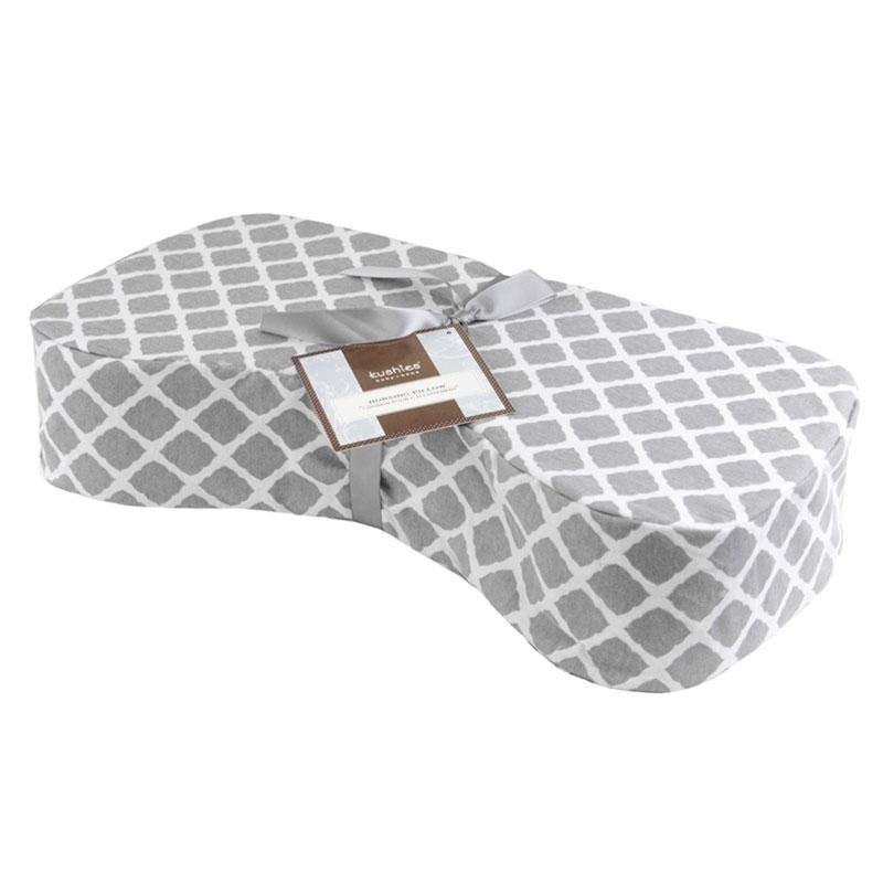 Nursing Pillow | Lattice Grey