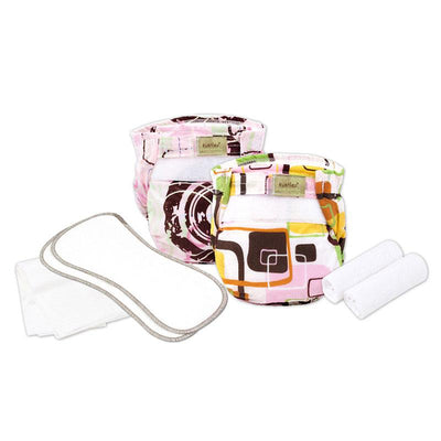 Organic Ultra-Lite Infant Diaper Trial Pack Girl