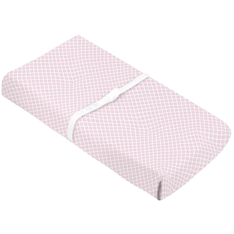 Flannel | Changing Pad Cover w-Slits for Safety Straps