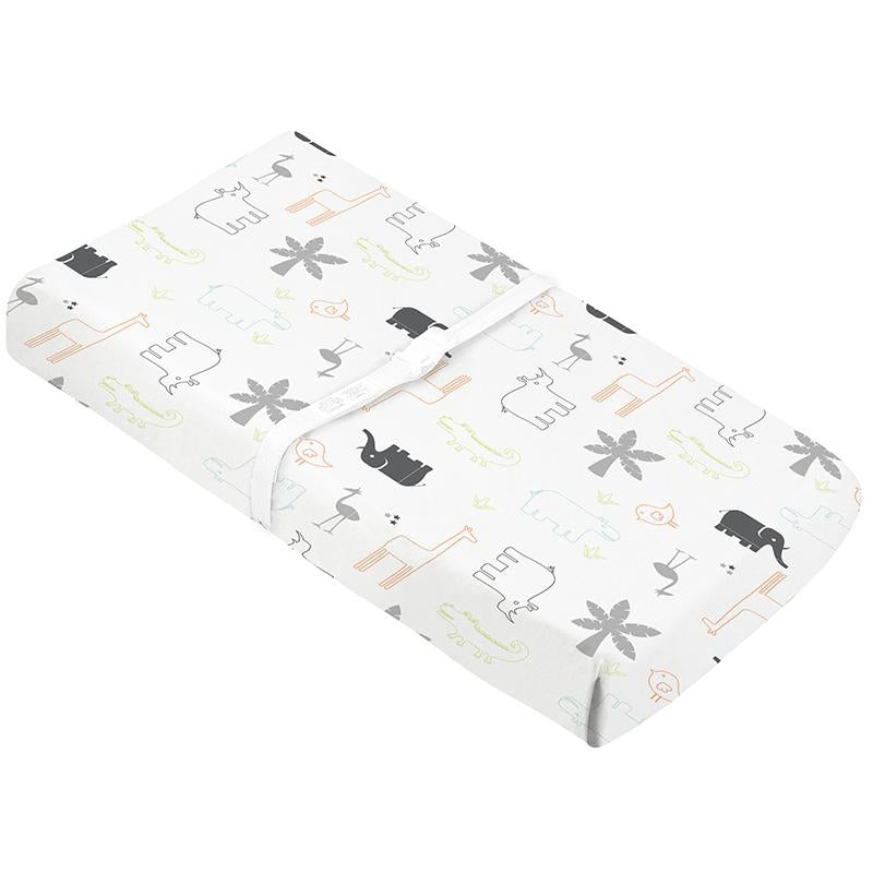 Percale | Changing Pad Cover w-Slits for Safety Straps