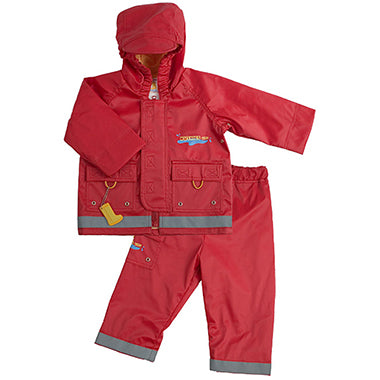 Splish Splash | Rain Jacket & Pant Set