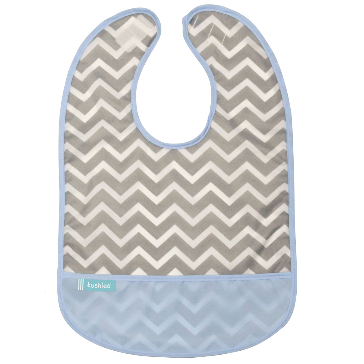 Blue Chevron | Cleanbib