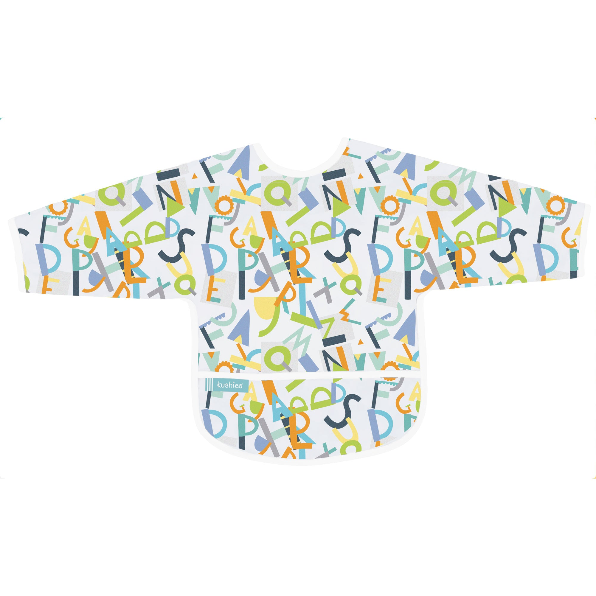 Alphabet | Cleanbib with Sleeves