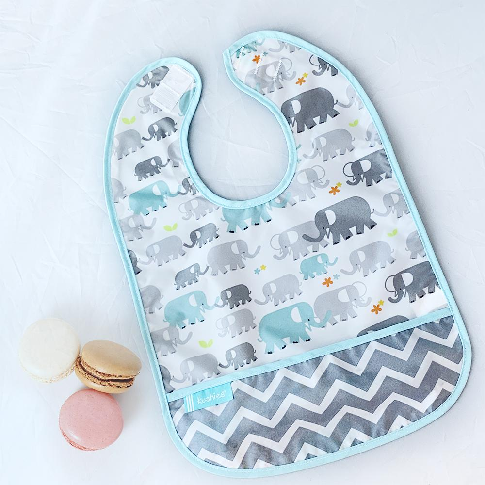 Cleanbib 3-pack | Elephant