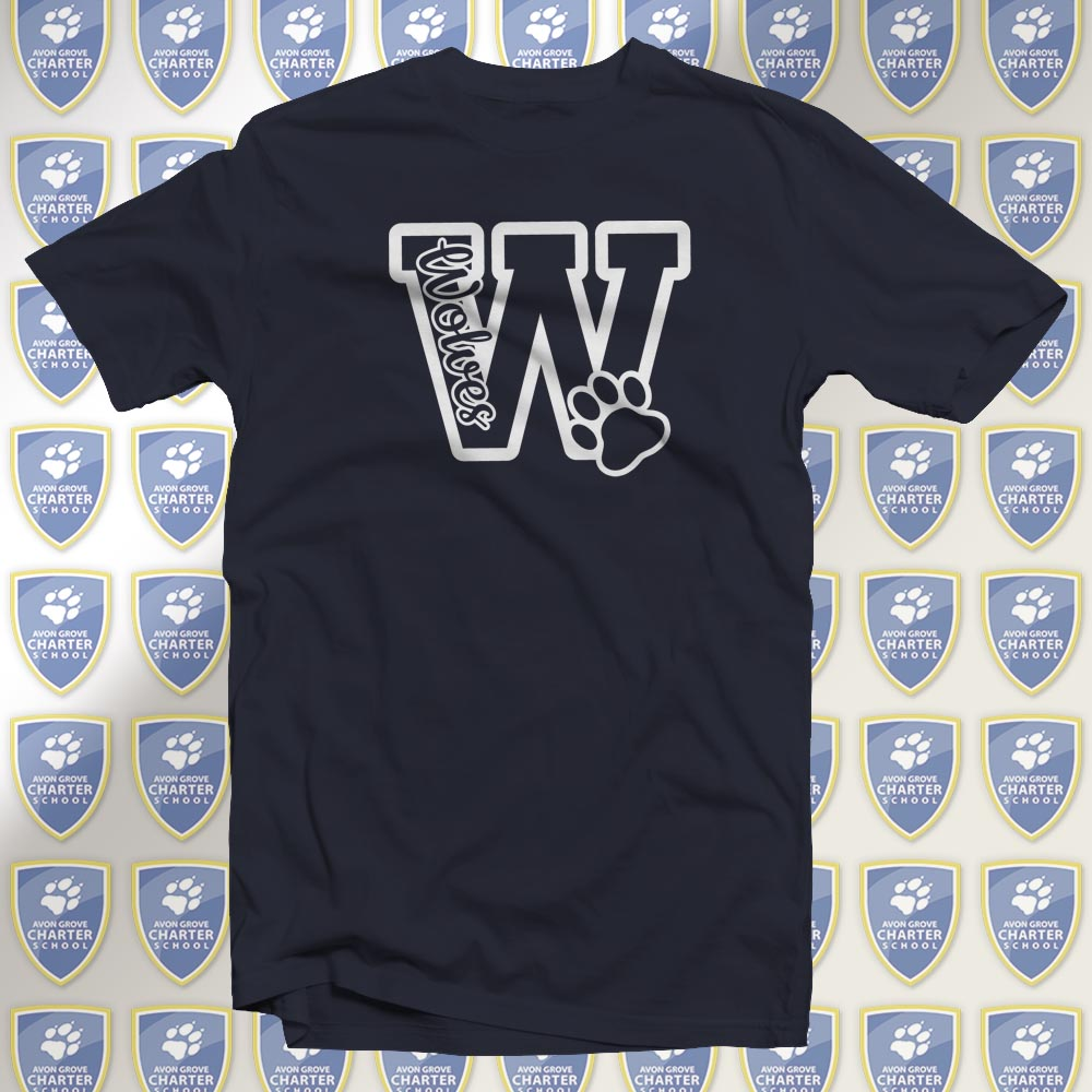 W for Wolves T-Shirt