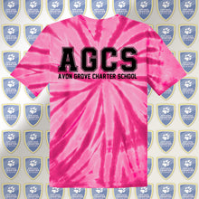 Load image into Gallery viewer, AGCS Youth Pink Tie-Dye Tee