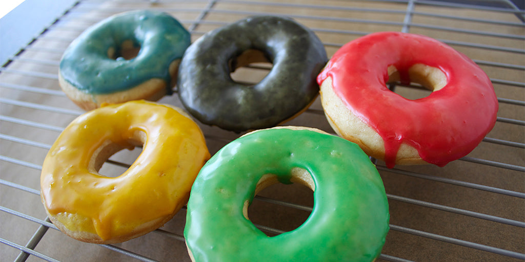 Gluten-Free Olympic Donuts