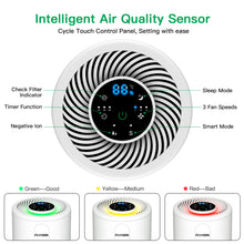 Load image into Gallery viewer, Acekool Air Purifier D02 - H13 True HEPA Filter Air Purifier