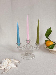 Vintage 3-tier Fan Candelabra
