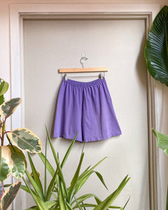 80s Cotton Loungewear Shorts