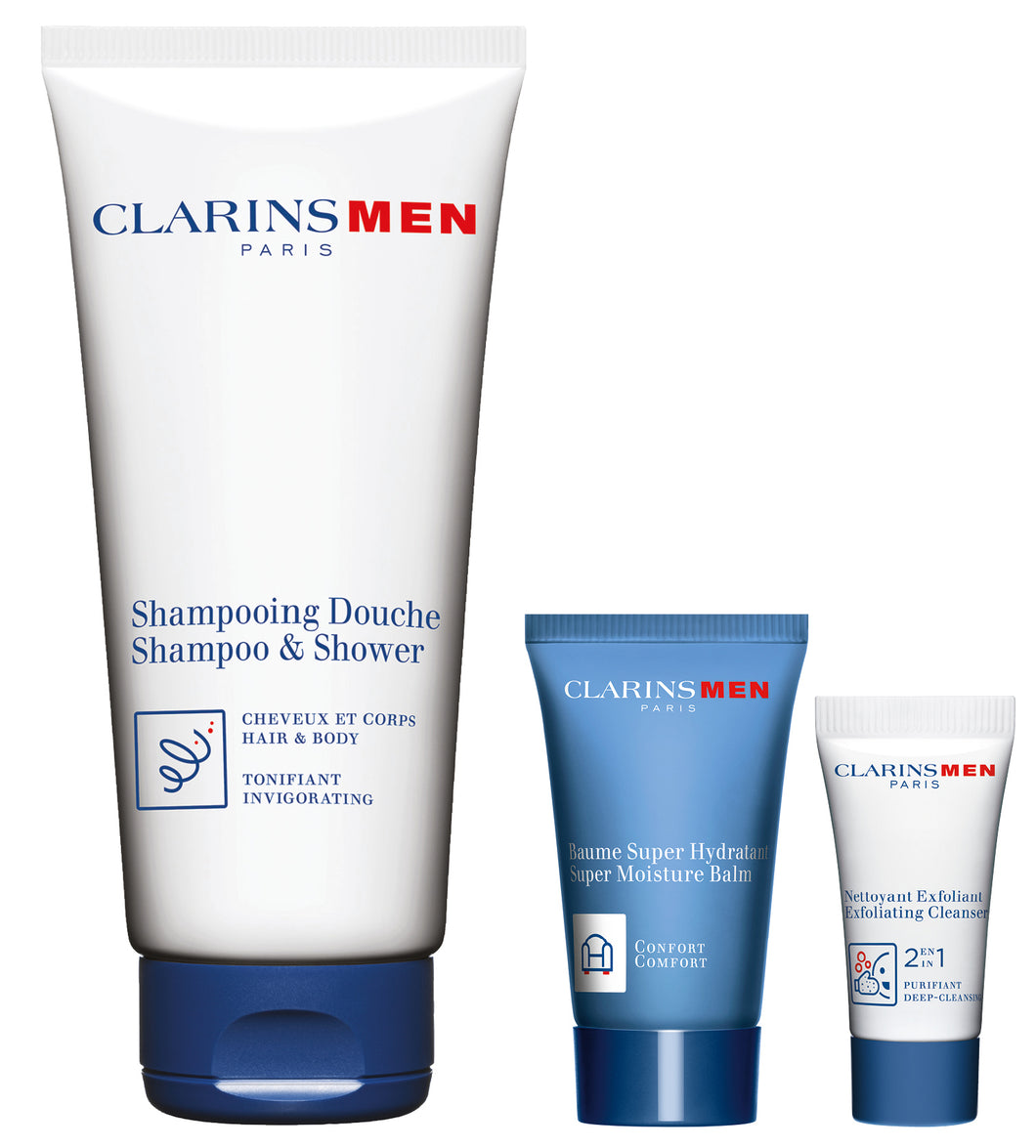 ClarinsMens Start-Up Collection