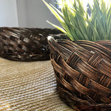 https://secondvidavintage.ca/products/chocolate-wicker-planter-set