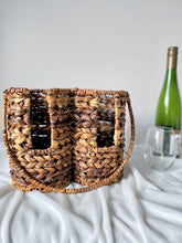 Load image into Gallery viewer, Braided Wine Bottle Carrier