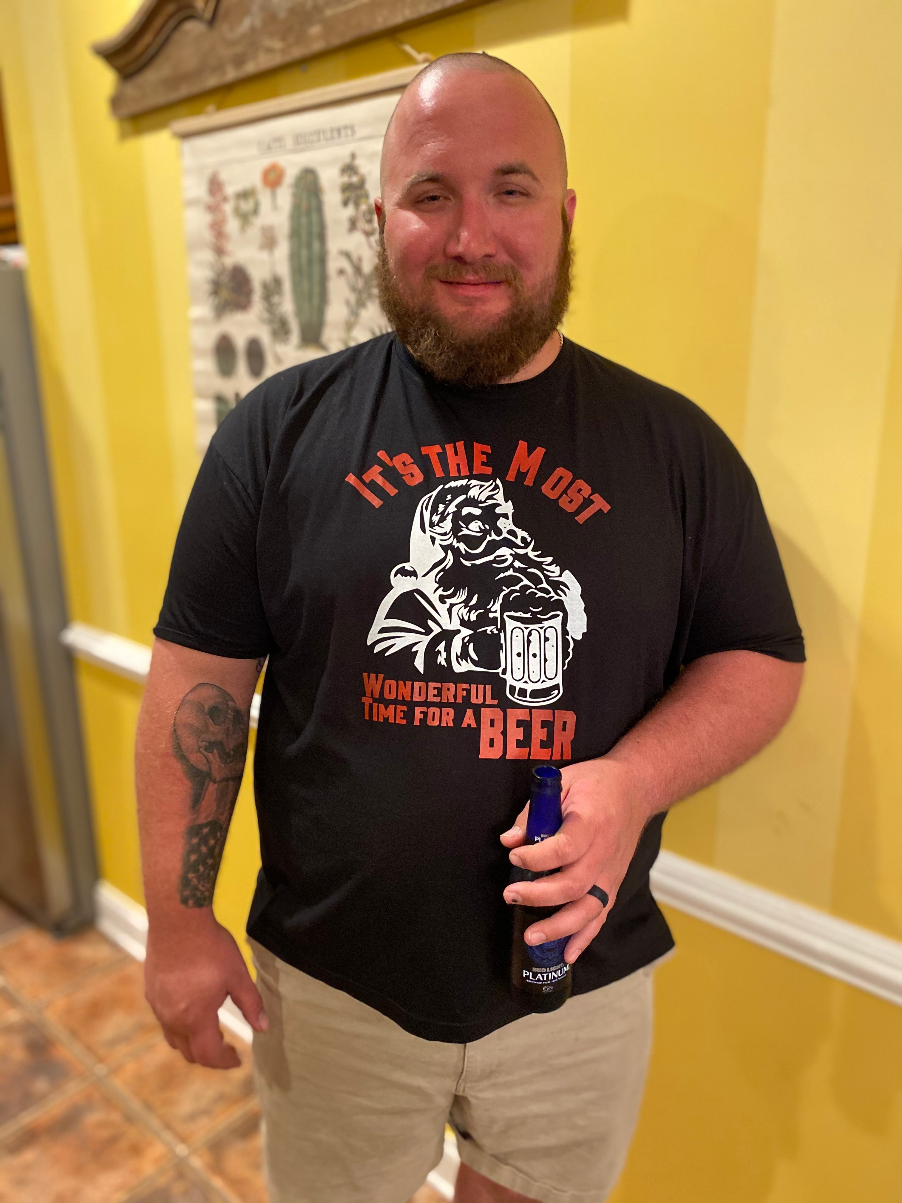 It's The Most Wonderful Time For A Beer Graphic Tee