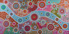 Load image into Gallery viewer, Wiradjuri River People 3 - Art Print on Canvas